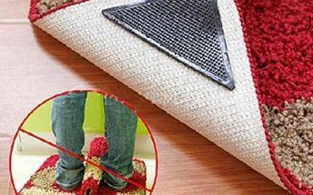 Silikonové protiskluzové samolepky na koberec