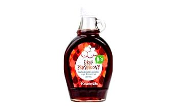 COUNTRY LIFE Bio brusinkový sirup 250 ml