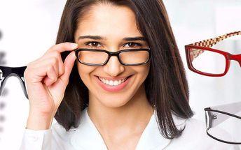 Brýlové obruby v ceně 1000 Kč z Optiky Novotný