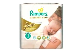 PAMPERS Premium Care 1 NEWBORN 22 kusů