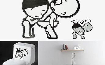 Originální samolepka na WC - poštovné zdarma