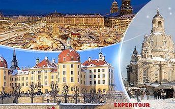Drážďany: 1denní zájezd pro 1 osobu na trhy a zámek Moritzburg, kde se natáčela Popelka