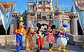 4denní zájezd do Disneylandu