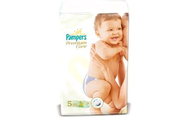 PAMPERS Premium Care 5 junior 11 - 18 kg 44 kusů