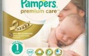 PAMPERS Premium Care 1 NEWBORN 22 kusů