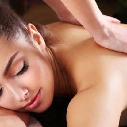 Breussova masáž včetně masáže chodidel v délce 60 minut