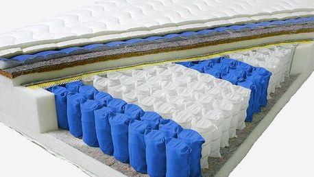 Inters Dakota tašičková komfortní matrace DOPRAVA ZDARMA 180x200