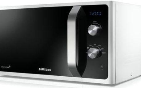 Mikrovlnná trouba Samsung Muse3 MS23F301EAW/EO bílá