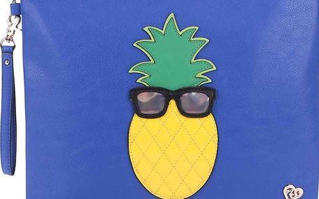 Modré psaníčko s ananasem Anna Smith