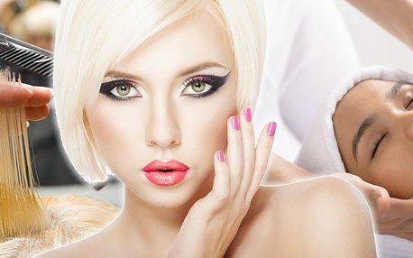 Brno - Den pro princeznu.Kadeřnický balíček + kosmetické ošetření a líčení = 215 minut hýčkání.