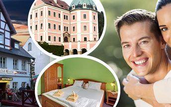 Pohádkový pobyt pro dva v penzionu Hradní Bašta s romantickou večeří a bohatými snídaněmi.