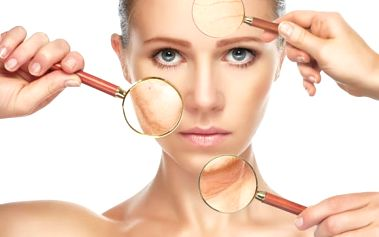 60min. ošetření laserem + kys. hyaluronová a kolagen pro redukci vrásek, 1-5 ošetření