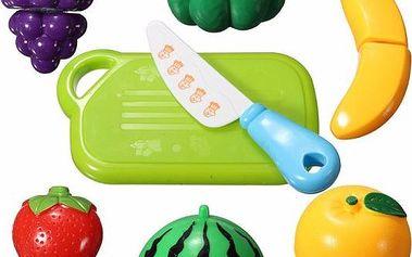 Plastové ovoce a zelenina pro malé pomocníky v kuchyni - poštovné zdarma