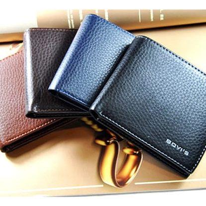 Pánská peněženka v elegantním stylu - 4 barvy - dodání do 2 dnů