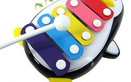 Xylofon pro děti - Tučňák