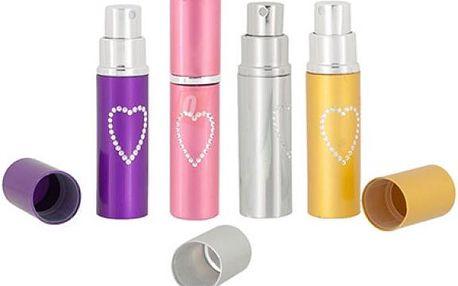 Flakónek na parfém se srdíčkem - dodání do 2 dnů