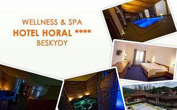 3999 Kč za 3 dny relaxačního pobytu pro DVA ve wellness & spa hotelu Horal**** v Beskydech včetně polopenze a dalších služeb