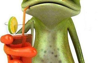 Žabák - 3D samolepka na auto