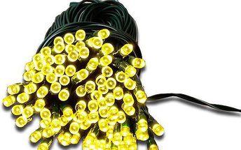 Zahradní světelný řetěz Garth - 100x LED dioda teplá bílá