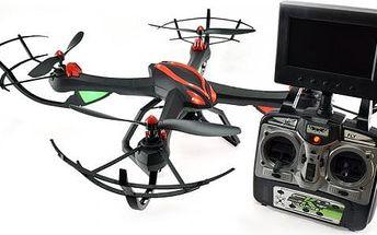 Vampire MAX - rychlý dron s FPV-HD 5,8Ghz kamerou - přenosem videa do obrazovku vysílače RCobchod - RC_44295