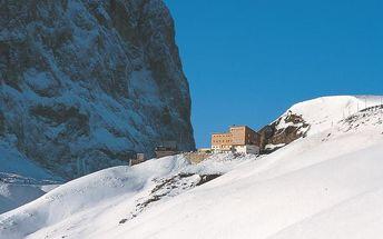 Itálie - Val Gardena na 11 dní, polopenze s dopravou vlastní