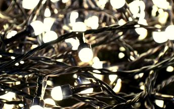 Vánoční LED osvětlení 10 m - teple bílá, 100 MAXI LED diod