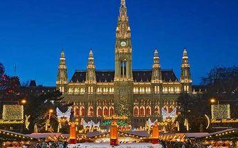 Výlet do adventní Vídně s nákupy v Primarku