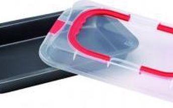 Pečící plech s přenosným plastovým krytem 36 x 23 x 4,5 cm RENBERG RB-3543