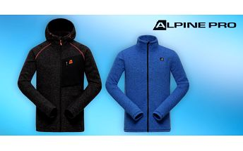 Zahřejte se stylově: Pánské svetry Alpine Pro
