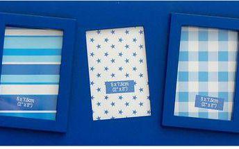 Sada sedmi rámečků Photo, modrá