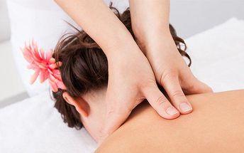 30minutová uvolňující masáž zad a šíje od Renaty Svobodové v Ústí nad Labem