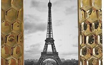 Keramický rámeček zlatá, PF055