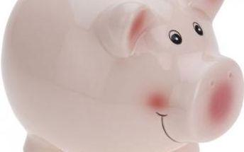 Pokladnička prasátko střední růžové EXCELLENT KO-554888330