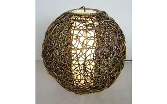 Dekorativní stínidlo závěsné - koule 35cm