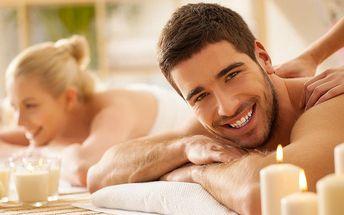 Hodinová masáž při svíčkách pro páry i kamarády