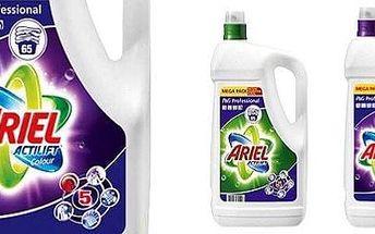 MIMOŘÁDNÁ AKCE - Prací gel ARIEL ACTILIFT PROFESSIONAL 4,55 l , na bílé nebo barevné prádlo!
