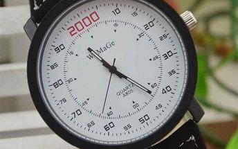 Pánské hodinky s velkým ciferníkem - několik variant