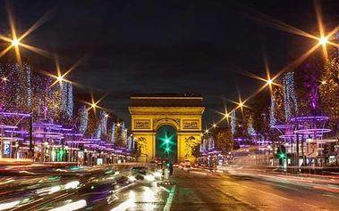 Silvestr v Paříži s ubytováním v hotelu
