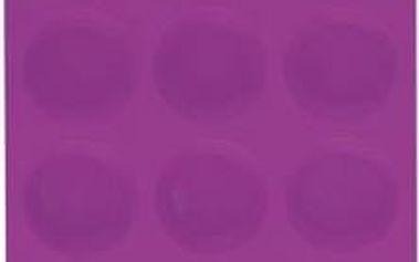 Forma na muffiny 12 ks silikonová, fialová RENBERG RB-3663fial