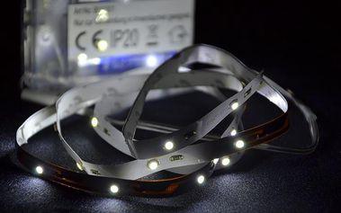 LED pásek - party dekorace - studená bílá