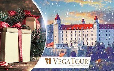 Adventní Bratislava: 1denní autobusový zájezd pro 1 osobu: průvodce, pojištění a 2 termíny