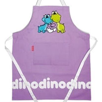 Dětská kuchařská souprava DINO, fialová