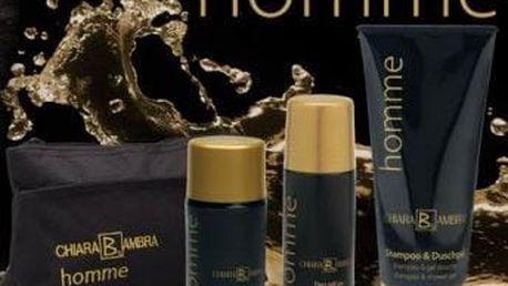 Krémy pro muže sada 4 ks Homme Care Set 4 pcs CHIARA AMBRA ® C04979