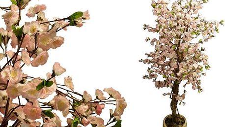Umělá květina - Kvetoucí třešeň 180 cm