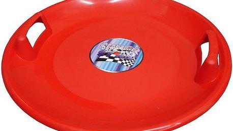 Superstar plastový talíř - červený