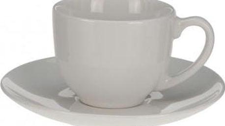 Hrnek na espresso 95 ml, bílý EXCELLENT KO-Q75100600