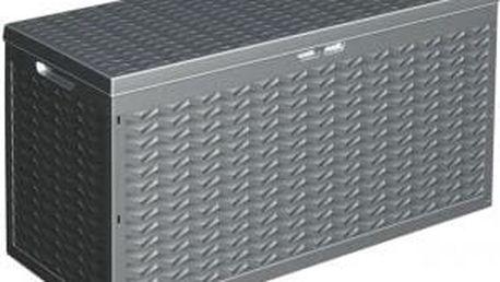 Zahradní úložný box s víkem plastový 120x45x60 cm ProGarden KO-Y54400840
