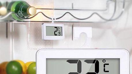 Digitální bezdrátový teploměr do lednice