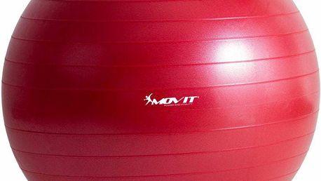Gymnastický míč MOVIT - červený, 75 cm