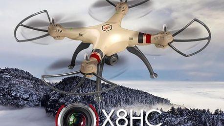 SYMA X8HC HD kamera + barometr + 15 minut letu SYMA - RC_45467